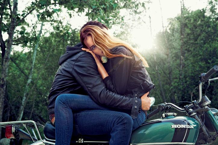 Motorcycle girl dating